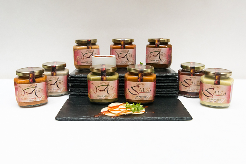 saxon jars mole and salsa