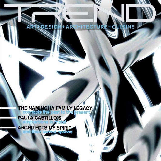 trend magazine cover
