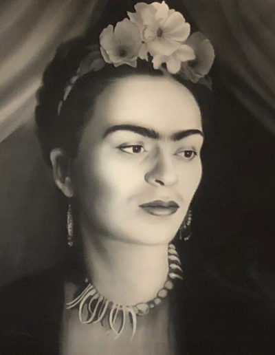 Frida Black and White